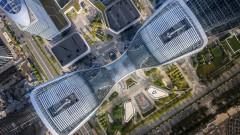 Магапроект: Шест свързани помежду си небостъргача в Китай