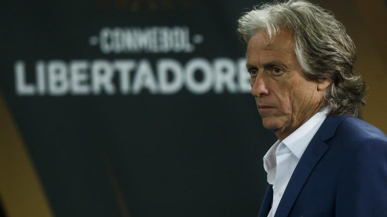 Португалският треньор на Фламенго Жорже Жезуш подписа нов договор с