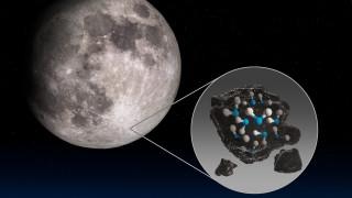 NASA: И на светлата страна на Луната има вода