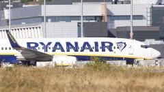 Стачките сринаха печалбата на Ryanair
