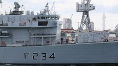 Руски кораби в Ламанша притесниха Великобритания