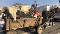 В Казанлък подновиха протестите срещу каруците