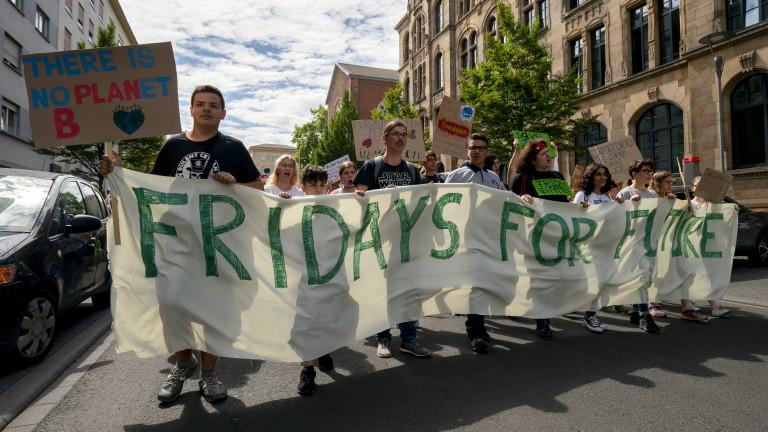 Младежкото движение за защита на климата