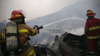 Четирима загинали при пожар в мол в Перу