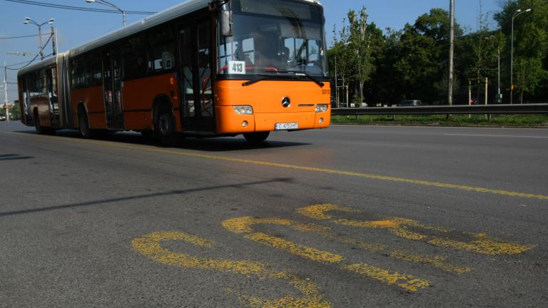Въвеждат ново работно време за градския транспорт в София