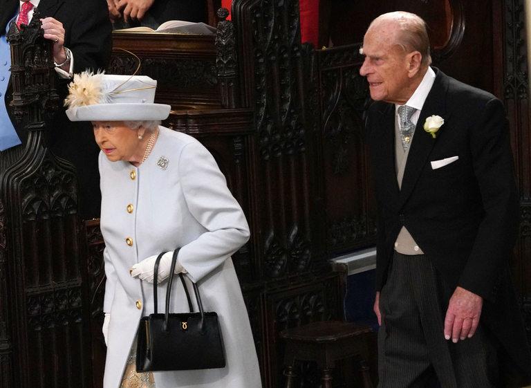 Кралица Елизабет и принц Филип дойдоха заедно