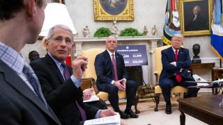 Тръмп отрече конфликт с Фаучи