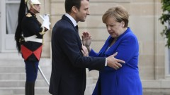 Съюзниците на Меркел отхвърлят предложенията на Макрон за еврозоната