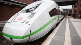 Стачка парализира германските железници