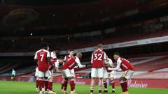 Арсенал ще приеме Бенфика в Атина