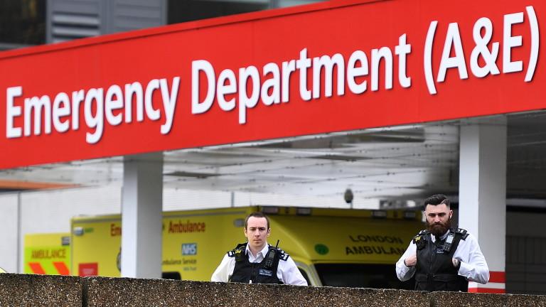 Британският премиер Борис Джонсън имаше комфортна нощ в болницата. Той