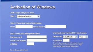 Компютърен вирус имитира активация на Windows