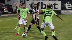Локомотив (Пд) - Черно море 1:0, гол на Димитър Илиев, гостите претендираха за дузпа