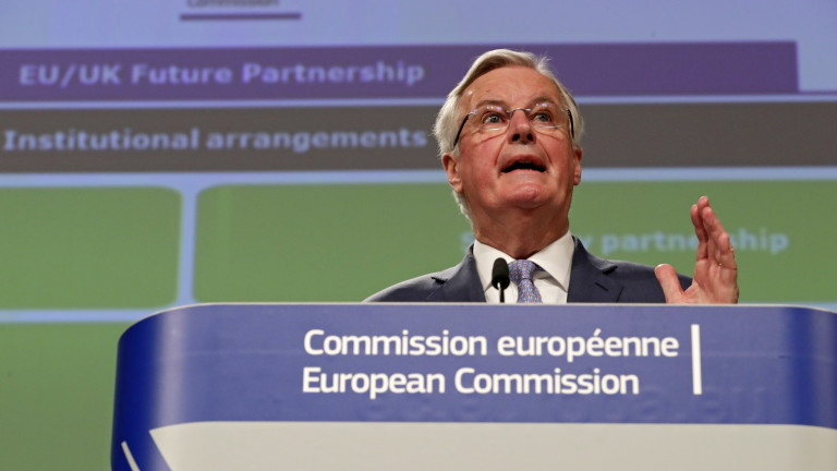 ЕС разкри проектомандата за преговорите с Великобритания