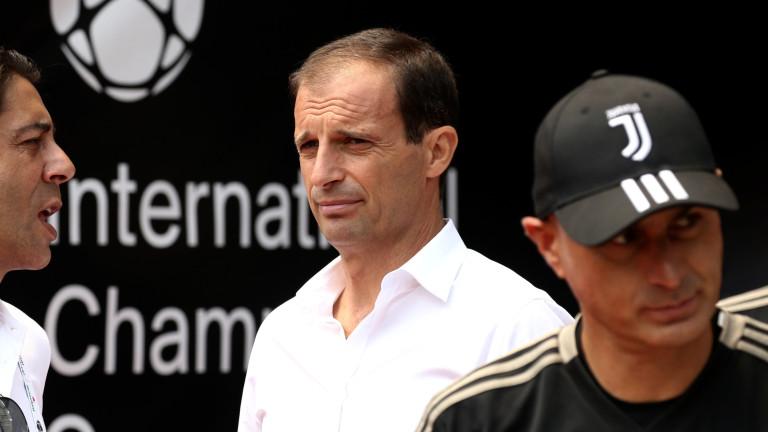 Алегри: Би било лудост да кажа, че сме фаворит в Шампионската лига