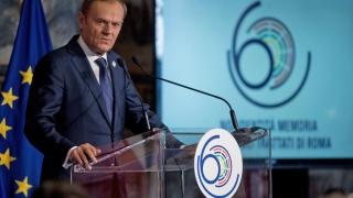 Докажете, че сте лидерите на Европа, зове Туск на срещата на върха в Рим