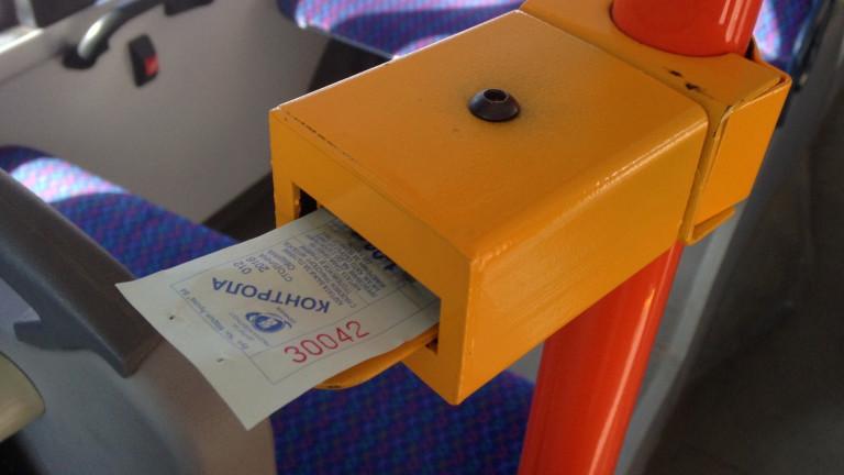 Спират онлайн билетите за градския транспорт във Варна