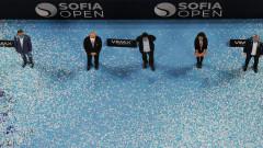 Министър Красен Кралев участва в церемонията по награждаване на шампиона на Sofia Open 2020