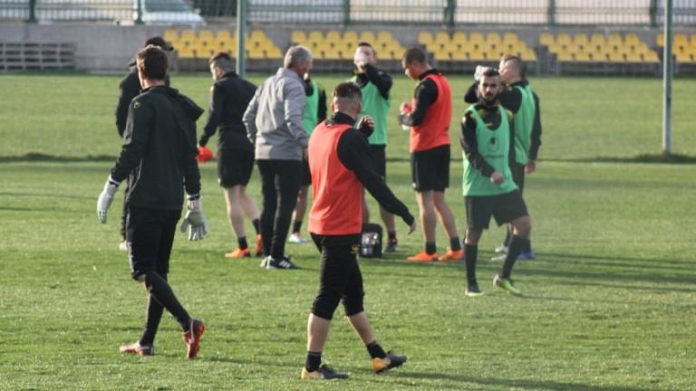 Ботев (Пловдив) вече се готви за предстоящия мач от последния