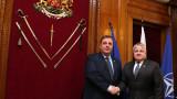 Съливан и Каракачанов обсъдиха регионалната сигурност