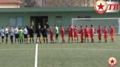 Юношите на ЦСКА напердашиха хората на Румен Чандъров със 7:0