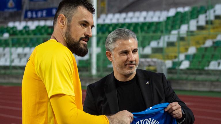 Миятович не можел да чака Левски, назова името на новия си клуб