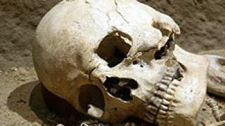 Италианки пренасят скелет в куфарче