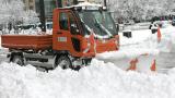 3000 машини в готовност да чистят снега от 20 000 км републикански пътища