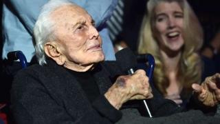 Кърк Дъглас – първият столетник в Холивуд!