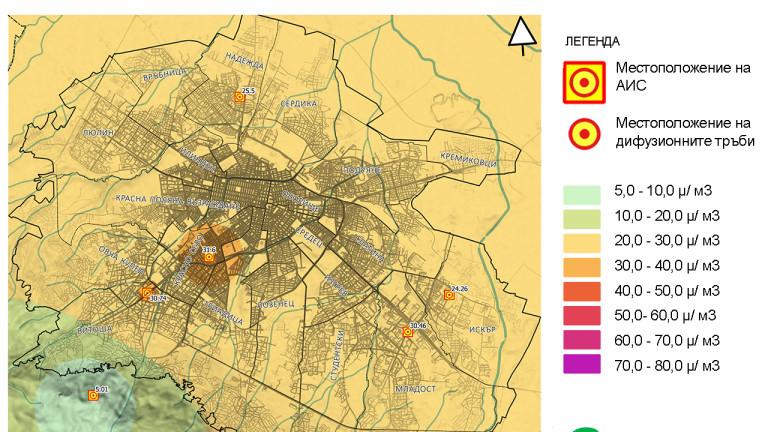 Еколози алармират за азотен диоксид над нормите в София