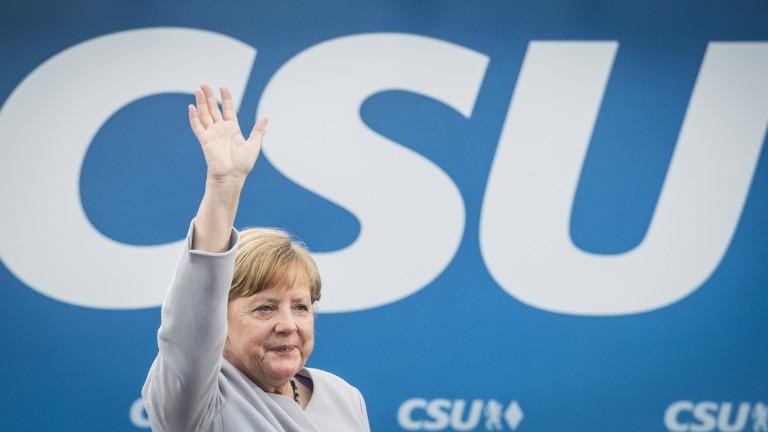 Консерваторите на Меркел водят три месеца преди вота в Германия