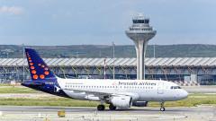 Стачка на пилотите на Brussels Airlines приземи 75% от полетите