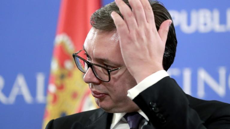 Западът призова Вучич към сдържаност