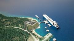 Първата плаваща станция за втечнен газ в Хърватия е факт