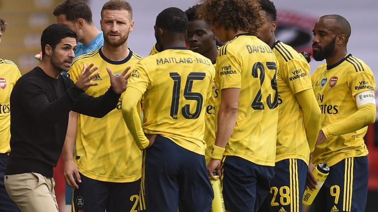 Мениджърът на Арсенал - Микел Артета сподели, че единствено победи