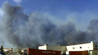 Пожари евакуираха цял град в Канада