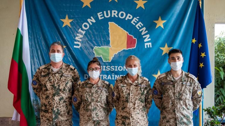 Български военни медици посрещат Деня на независимостта на България на