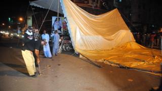 Пакистан нареди временно да се спрат социалните мрежи след насилие на протести