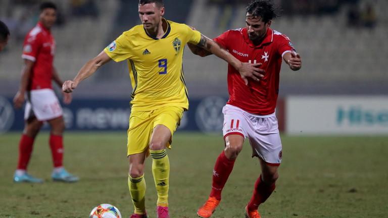 Швеция победи Малта с 4:0 като гост в мач от