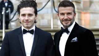 Как танцуват баща и син Бекъм