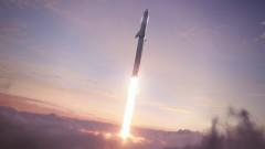 Колкото точно е голяма гигантската ракета на Мъск