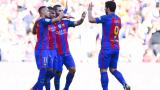 Луис Енрике глези футболистите на Барселона
