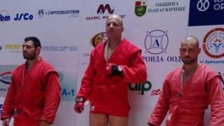 Камен Георгиев за поредна година без конкуренция в бойното самбо
