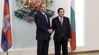 Радев амбициран да задълбочим сътрудничеството си с Камбоджа