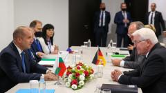 Радев: България очаква стратегически инвеститор от Германия