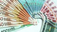 Увеличават се фалшивите евробанкноти