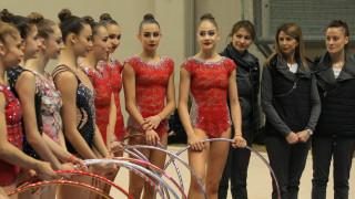 Злато за ансамбъла ни по художествена гимнастика в София