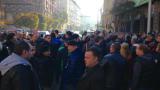 Полицаите не се отказват от протестите, дори обещават засилване