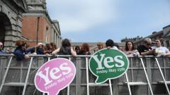 """Ирландия гласува """"за"""" разрешаването на абортите"""