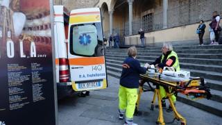 Турист почина в църква във Флоренция